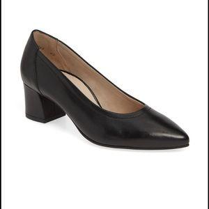 PAUL GREEN🔴 Tammy Pump black leather Sz 8.5
